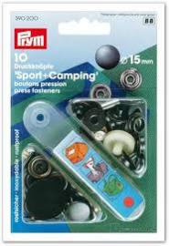 Prym Drukknopen Sport & Camping  Bronskleurig  390 200