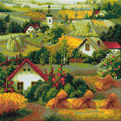 Diamond Mosaic Serbian Landscape - RIOLIS    ri-am0013