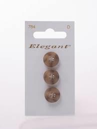 Knopen Elegant - Bruin / 784