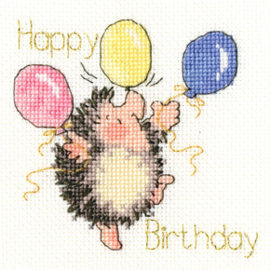 Borrduurpakket Margaret Sherry - Birthday Balloons - Bothy Threads    bt-xgc23