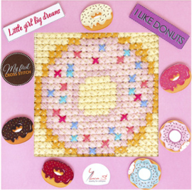 Borduurpakket My First Embroidery - Donut - Luca-S    ls-x009