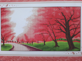 Cross Stitch / Romantic sakura