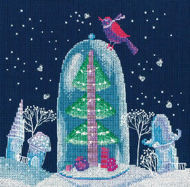 Borduurpakket Winter Fairy Tale - RTO    rto-m00649