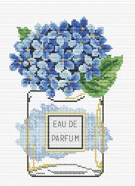 Voorbedrukt borduurpakket Hydrangea Bloom - Needleart World    nw-nc340-036