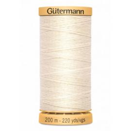 Rijggaren van Gutermann / Wit / kleurnr. 919
