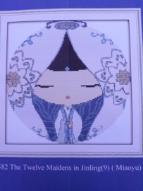Cross Stitch / The Twelve Maidens in Jinling ( Miaoyu )