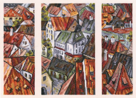 Borduurpakket The Roofs - RTO    rto-m00558