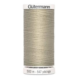 Gütermann /  500 meter / 722 / Licht Beige