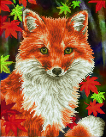 Diamond Dotz Foxy - Needleart World    nw-dd09-043