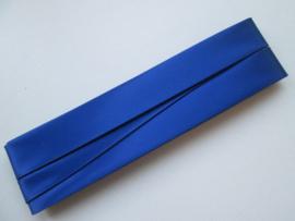 Satijn Biaisband Duchesse / Kobalt Blauw  / Kleurnr. 232
