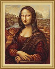 Borduurpakket Mona Lisa - Luca-S    ls-b416