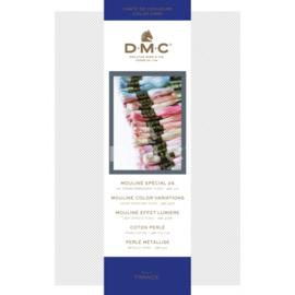 Borduurgaren DMC kleurenkaart   Inclusief de nrs. 01 tot 35