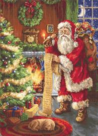 Borduurpakket Santa Claus - Luca-S / Kerstman