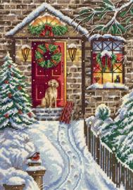 Borduurpakket Christmas Eve - PANNA    pan-7017-pr