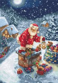 Borduurpakket Santa Claus - Luca-S