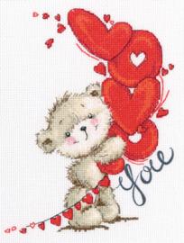 Borduurpakket I love you - RTO    rto-m70032