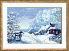 Borduurpakket Russian Winter - RIOLIS    ri-0989