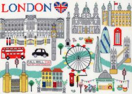 Borduurpakket Cities - Love London - Bothy Threads    bt-xls06