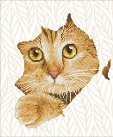 Diamond Dotz Kitten Peek - Needleart World    nw-dd07-052