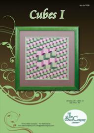 Borduurpakket Cubes I - The Stitch Company    tsck-mv1006