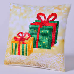 Diamond Dotz Christmas Gifts Kussentje - Needleart World    nw-ddp02-026