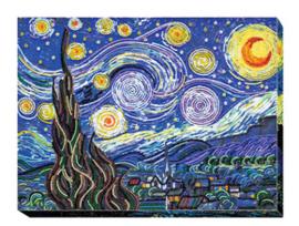Kralen borduurpakket Starlight Night - Abris Art    aa-ab-397