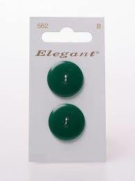 Knopen Elegant - Groen / 562