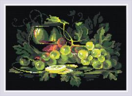Diamond Mosaic Still Life with Lemon - RIOLIS    ri-am0026