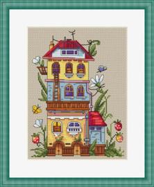 Borduurpakket Summer House - Merejka    mer-k053
