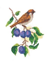 Diamond Painting Sparrow - Freyja Crystal    fc-alvr-002-059