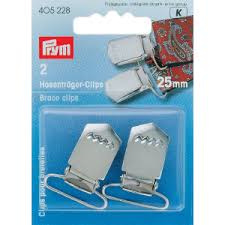 Prym Bretelclips  Zilverkleurig 25 mm  405 228