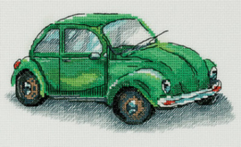 Borduurpakket Green Car - PANNA    pan-7092-m