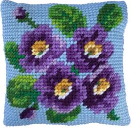 Kussen borduurpakket Primrose Bouquet - Needleart World  nw-lh03-010