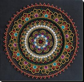 Kralen borduurpakket Mandala - Abris Art    aa-ab-691