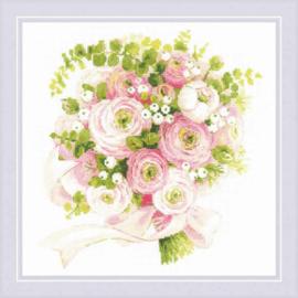 Borduurpakket Wedding Bouquet - RIOLIS    ri-1867
