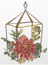 Voorbedrukt borduurpakket Succulent Garden 2 - Needleart World    nw-nc440-097