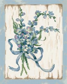 Borduurpakket Blue I - Leti Stitch    leti-0974