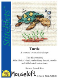 Borduurpakket Turtle - Mouseloft    ml-004-q02