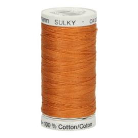 Gutermann naaigaren cotton 30 / 300 meter  1056 / goud bruin