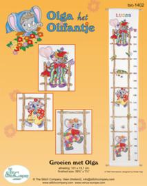 Borduurpakket Groeien met Olga - The Stitch Company    tsck-1402e