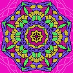 Diamond Art Mandala - Leisure Arts    la-da02-49301