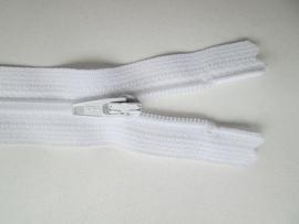 Ykk Nylon ritsen 10 t/m 60 cm  Wit (501)