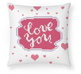 Diamond Dotz Love You Mini Pillow - Needleart World    nw-ddp02-039