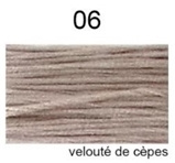 Dmc Mouliné Special / nieuwe kleur / Velouté de Cépes / 06