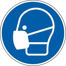 ✂ MONDKAPJE / wasbaar en wegwerp