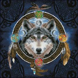 Diamond Dotz Celtic Wolf Guide - Needleart World    nw-dd12-049