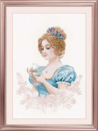 Borduurpakket Afternoon Tea Club - RIOLIS    ri-1791