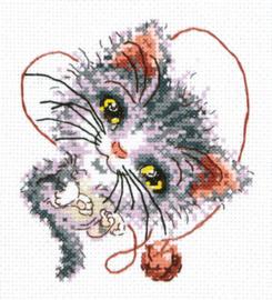 Borduurpakket Cutie - Chudo Igla (Magic Needle)    ci-026-024