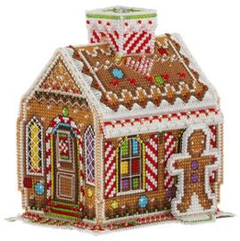 Borduurpakket Gingerbread House - PANNA    pan-1575-ig
