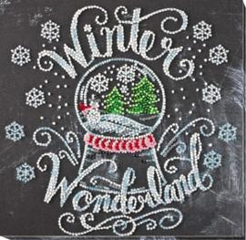 Kralen borduurpakket Winter Wonderland - Abris Art    aa-amb-047
